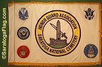 .Saratoga National Cemetery Honor Guard- Printed Nylon FLAGS